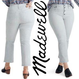 NWT, Madewell, Cali Demi-Boot Jeans in Corduroy